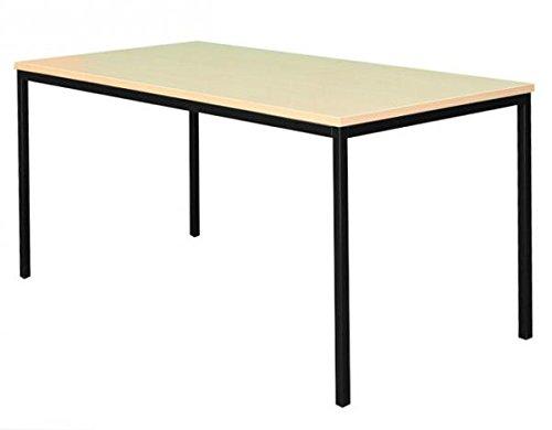 Schreibtisch im buche stil for Computertisch ecke