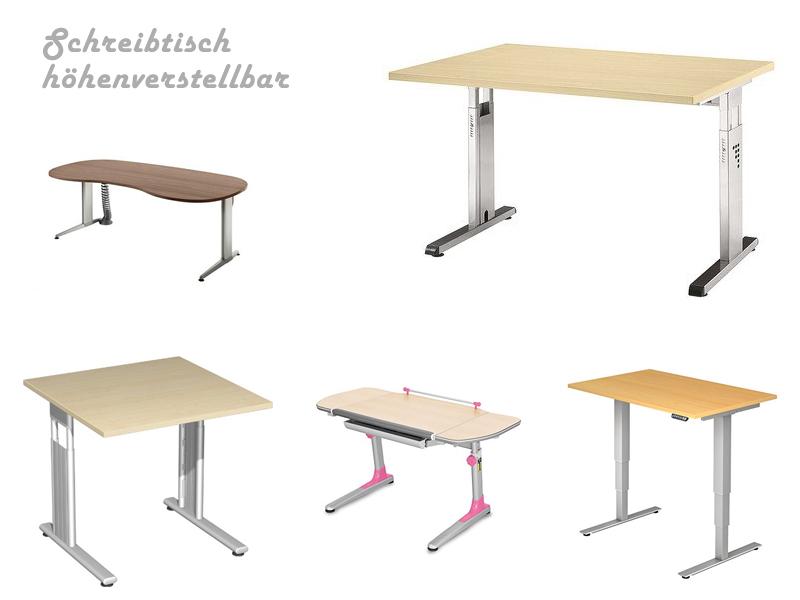 Großer Schreibtisch Höhenverstellbar