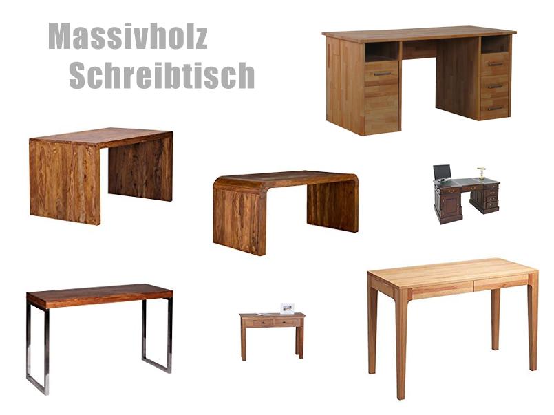 Schreibtisch Massivholz