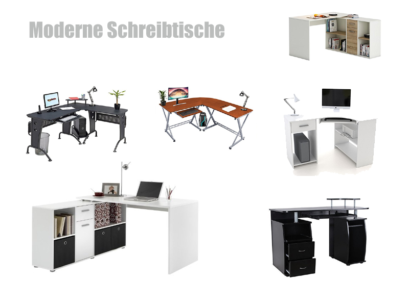 schreibtisch modern. Black Bedroom Furniture Sets. Home Design Ideas